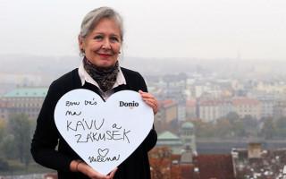 Za mobilní zvedák setkání s Helenou Třeštíkovou