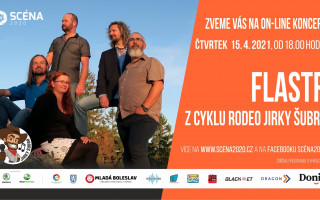 Koncert kapely Flastr 15. 4. 2021