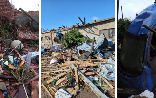 Pomoc Štěrbovým z Hrušek – tornádo jim vzalo dům