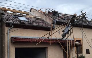 Pomoc rodině Prokopových z Moravské Nové Vsi, které zasáhlo ničivé tornádo