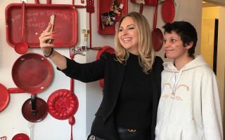 Návštěva Evropy 2 s Katkou Říhovou za pomoc Nikole