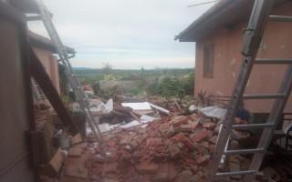 Pomoc na obnovu rodinného domu babičky Vaňkové z Mikulčic