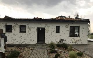 Tornádo v Hruškách - pomoc rodině Pokorných