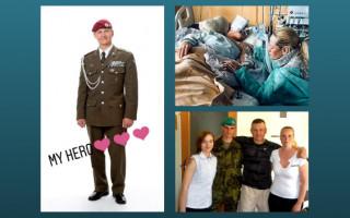 Neurorehabilitace pro válečného veterána Standu