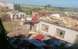 Pomoc rodině Jedounkové z Moravské Nové Vsi zasažené tornádem