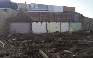 Pomoc rodině Novosadových, kteří při tornádu přišli o střechu nad hlavou - Fotografie po demolici