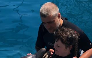 Delfinoterapie pro Jasmínku