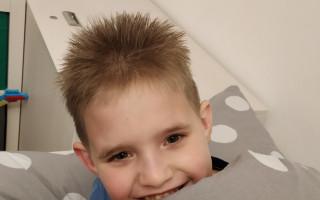 Pomoc pro Lukyho, který trpí těžkou mentální retardací