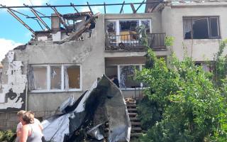 Pomoc Nešporovým, kterým tornádo zničilo dům