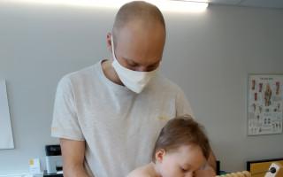 Pomoc Lukáškovi, aby mohl rehabilitovat