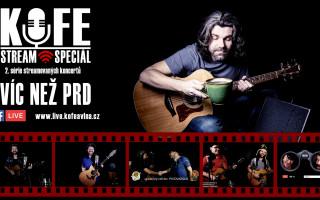 Podpořte KOFE STREAM SPECIÁL s kapelou KOFE@VLNA