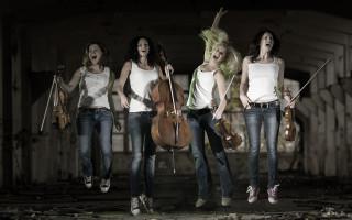 Debutové CD netradičního smyčcového kvarteta Gadrew Way