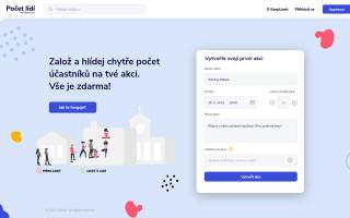 Početlidí.cz - pomozte hlídat limity a kapacitu akcí