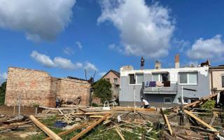 Pomoc Šagátovým, kterým tornádo zničilo dům