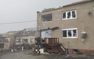 Pomoc pro obce zasažené ničivým tornádem
