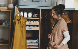 MAK atelier - originální lněné látky tkané v Česku