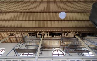 Zachraňme kazetový strop Rovečínského kostela před tesaříkem