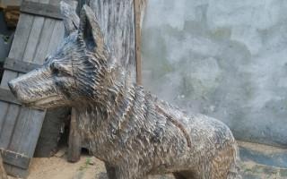 Jivácká lavička Toulavých vlků