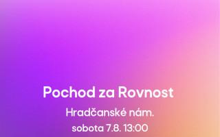 Reclaim Pride.cz - Pochod za Rovnost