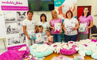 Podpořme společně budoucí maminky, kterým hrozí předčasný porod