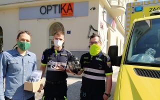 Dioptrické brýle CoVidi do ochranných masek pro zdravotníky