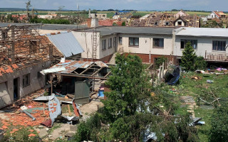Pomozte rodině Hlavňovských po zásahu tornádem