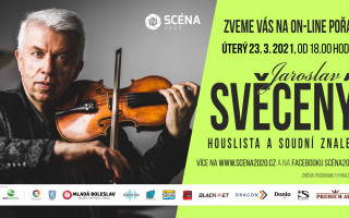 Pořad houslisty Jaroslava Svěceného