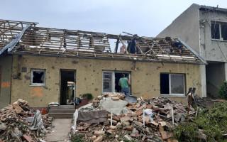 Pomoc Martinkovým, kterým tornádo zničilo domov