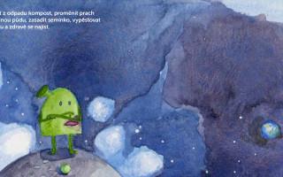 Kniha pro děti: Jak Eda ke kompostu přišel