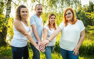 Podpořme společně ovdovělé rodiny s dětmi