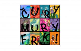 Čury mury frk – dětské CD a omalovánky