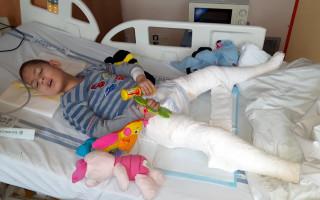 Na Ondráškovy neurorehabilitace, aby rodičům mohl dál dělat radost