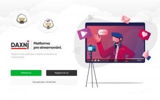 Stream portál daxni.cz