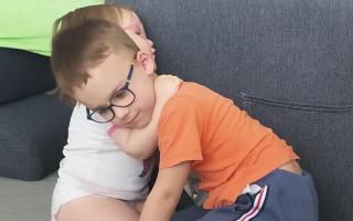Hipoterapie pro sourozence Mišku a Filípka