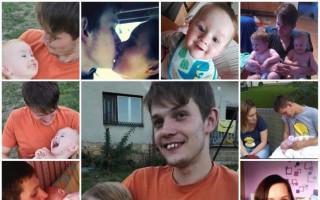 Pomohli jste rodině, která přišla o tátu a setkali se s Jirkou Macháčkem - Tady byla mladá rodina ještě pohromadě