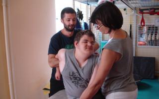 Intenzivní neurofyzioterapie pro Lukáše