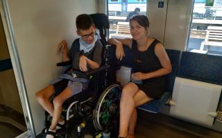 19 letý Jirka potřebuje nový vozík