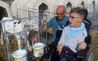 19letý Jirka potřebuje nový vozík