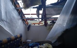 Pomoc pro rodinu Nedůchalových z Moravské Nové Vsi, jejichž dům poničilo tornádo