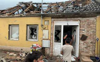 Tornádo nám vzalo dům – pomoc Polákovým