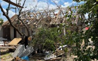 Pomoc po ničivém tornádu v Mikulčicích pro Lejskovy/Houžvovy