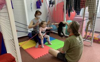 3 cesty k pomoci pro Sofinku, Maxíka a Tomíka - Sofinka na neurorehabilitacích