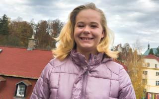 Rovnátka jako nový start do života pro Valérii z dětského domova