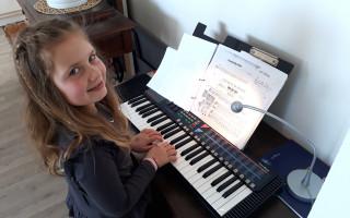 Pianino pro hudebně nadanou Helenku