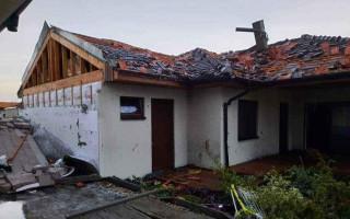 Pomoc pro Vlaďku Jůvovou, která přišla při tornádu o střechu nad hlavou