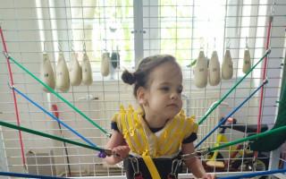 Amálka přišla o své dvojče, narodila se s postižením. Pomozme jí cvičit!