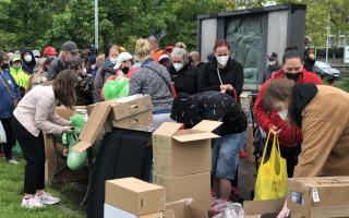 Dodávka pro humanitární pomoc Spolku Filantropie