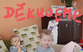 Pomoc pro babičku Dujsíkovou, které tornádo poničilo dům v Moravské Nové Vsi