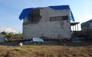 Nový dům pro mámu, Lenku Janulíkovou, po tornádu v Lužicích