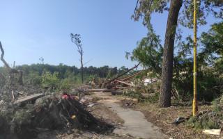 Obnovení klubovny pro děti a mládež, kterou zničilo tornádo